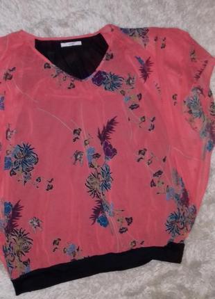 Шикарная яркая блуза