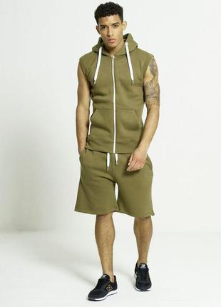Костюм мужской спортивный aarhon безрукавка и шорты