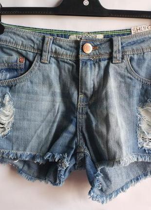 Распродажа шорты джинсовые terranova оригинал европа италия