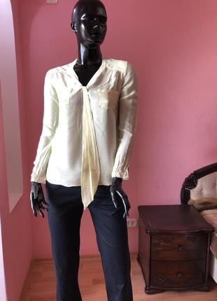 Блуза, рубашка  zara, размер 42, 44, 46