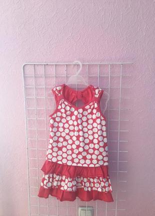 Летний костюм для девочки на рос 110-116