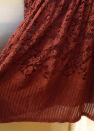 Платье next-14h цвета марсала6 фото