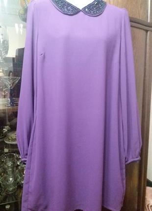 Воздушное платье -бренд--peacoks--м-л