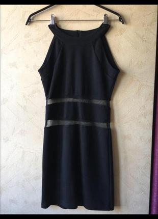 Платье полоски сетка3 фото