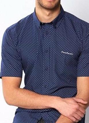 Рубашка на короткий рукав pierre cardin