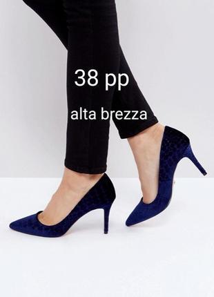 Натуральная кожа! стильные туфли, лабутены, лаковые лодочки alta brezza, 38 р