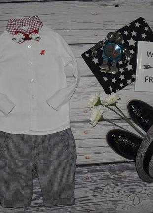2 - 3 года 92 - 98 см обалденная мягкая рубашка поло мальчику rebel рейбел