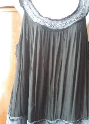 Платье -сарафан-yessica--расшитое стеклярусом и биссером--12-14р4 фото