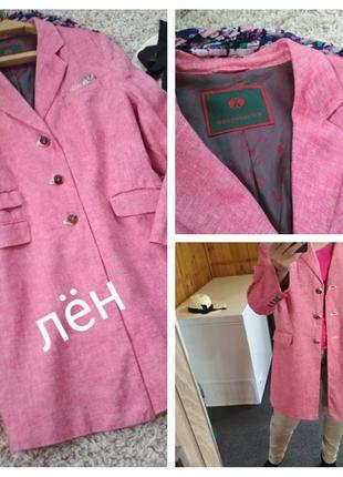 Актуальный стильный льняной жакет пиджак,reitmayer, p. 48