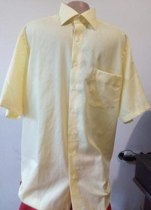 Мужская рубашка с коротким рукавом marvelis