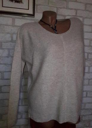 Maddison cashmere blend экстра легкий . свитер р с сток