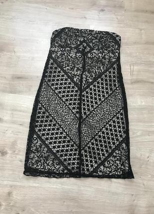 Платье вечернее кружево сетка