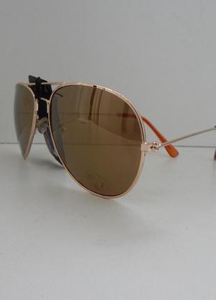 Солнцезащитные  очки  canda  коричневое затемнение