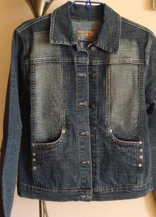 куртка джинсовая разм см