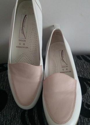 Нежные кожаные туфли