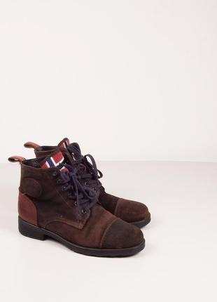 ! black friday sale ! ботинки замшевые napapijri