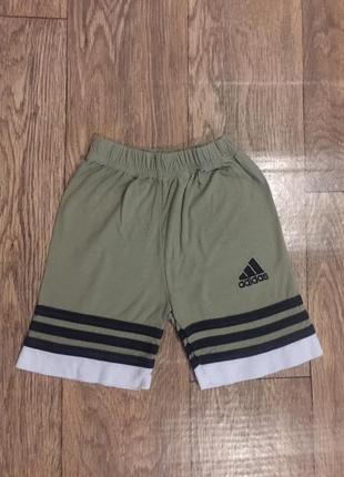Фирменные ,хлопковые шорты adidas  на лето !на 4 года