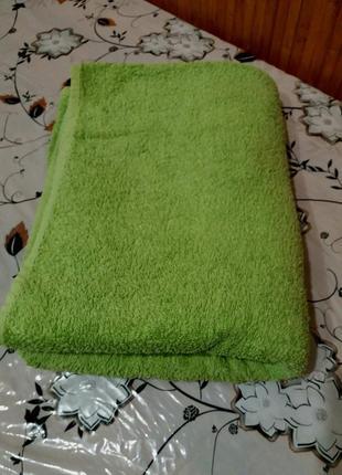 Большое банное полотенце 100см на 140см