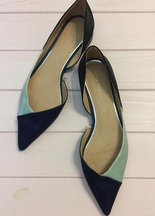 Туфли/лодочки, zara, размер 37/23,5 см.