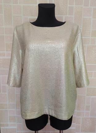 Новая блузка с золотым напылением, от бренда atmosphere.