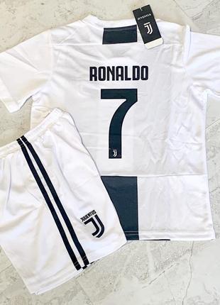 Форма футбольная детская juventus ronaldo 7