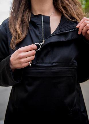 Стильная куртка анорак.