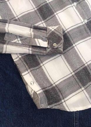 Очень крутая рубашка в клетку peacocks5 фото