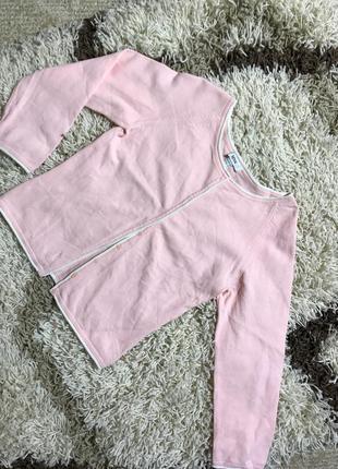 Кардиган mango нежно розовый