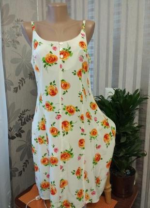 Яркое летнее платье, италия