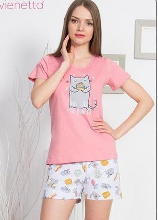 Пижама с шортами vienetta secret