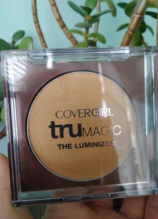Бронзатор с шиммером covergirl trumagic the luminizer хайлайтер бронзер
