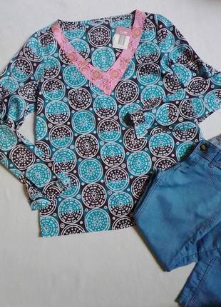 Літня котонова блузка