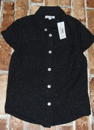 Хлопковая новая рубашка bluezoo 6 лет