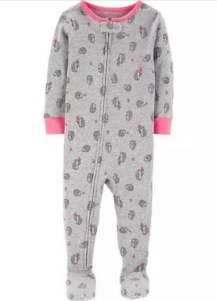 Коттоновая пижамка carter's 4t и 5t