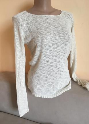 Бежевий свитер кофта на довгий рукав only