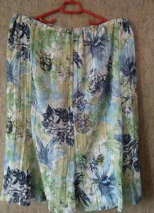 Летняя юбка большого размера # setter lady #
