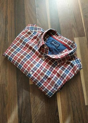 Клетчатая рубашка wrangler