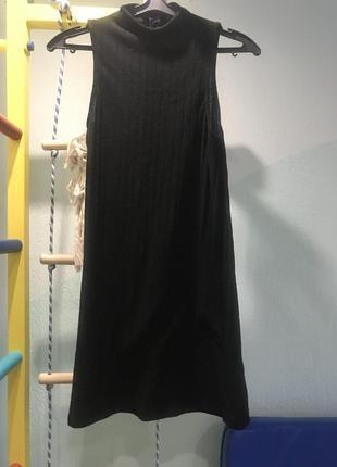 Платье под горло
