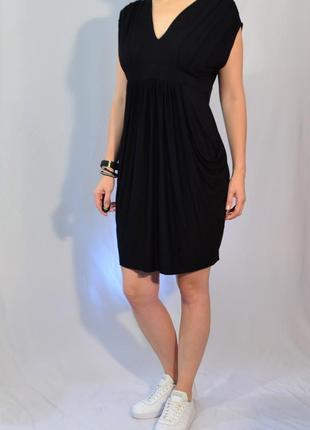 1813\70 черное трикотажное платье wallis xl