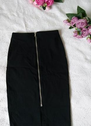 Обалденная юбка карандаш обтягивающая, в обтяжку юбочка стретч