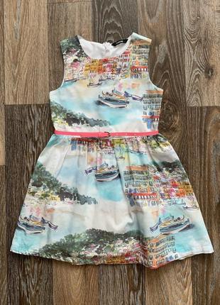 Платье george р.6-7 лет