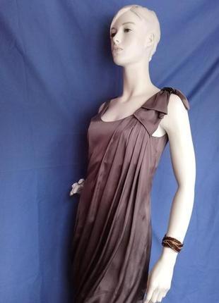 Изысканное шёлковое платье