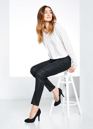 Модные джинсы slim fit от тcm tchibo, германия