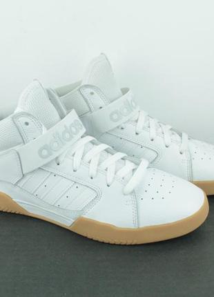 Оригинальные кожаные кроссовки adidas vrx mid b414821 фото