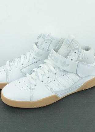 Оригинальные кожаные кроссовки adidas vrx mid b414823 фото