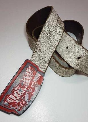 Ремень кожаный reparto corse cowboys belt, в хорошем сост.