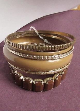 Красивый набор браслетов, новый! арт. 3595