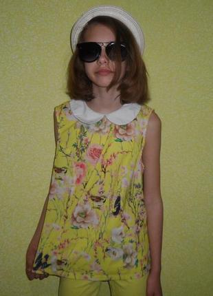 637153b4ae5 Желтые детские блузки для девочек 2019 - купить недорого вещи в ...