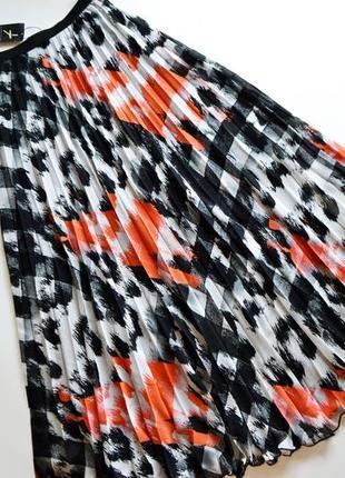 Шикарная длинная воздушная юбка плиссе1 фото