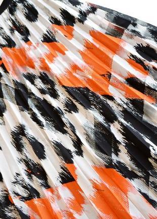 Шикарная длинная воздушная юбка плиссе2 фото